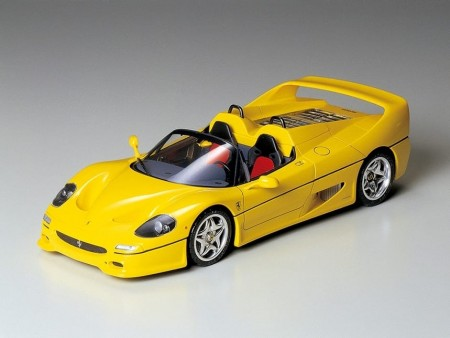 Tamiya 1/24 Ferrari F50 Yellow Version