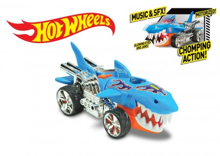 Hot Wheels Extreme Action Sharkcruiser m/Lyd og Lys