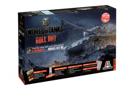 Italeri 1/35 World of Tanks Roll out Leopard 1 m/Lim