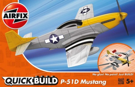 Airfix QUICK BUILD P-51D Mustang J6016