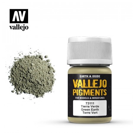 Vallejo Pigments Green Earth 35ml