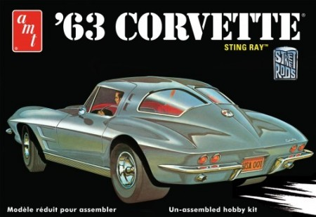 AMT 1/25 Chevy Corvette 1963 Sting Ray
