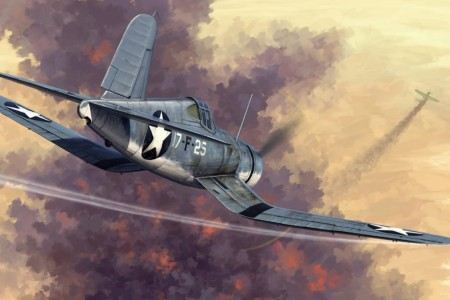 HobbyBoss 1/48 F4U-1 Corsair Early Version