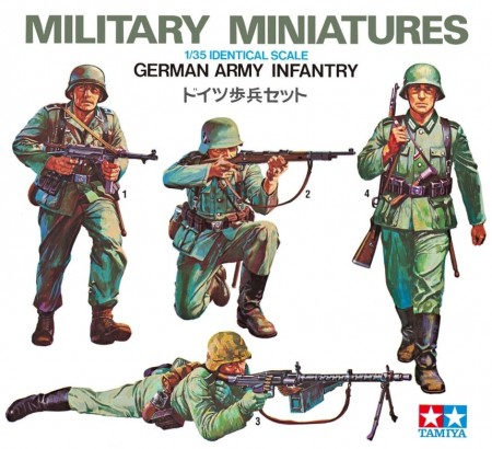 Tamiya 1/35 WWII German Army Infantry