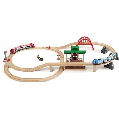 BRIO Tretogbane Travel Switching Set 33512