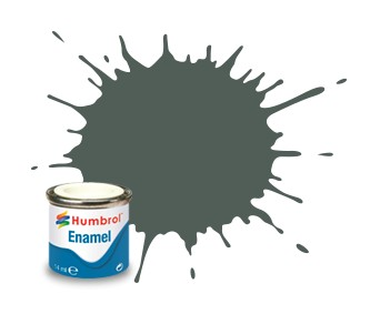 Humbrol Enamel No 1 Grey Primer - Matt 14ml