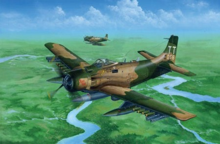 Trumpeter 1/32 A-1J (AD7) Skyraider