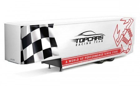 Italeri 1/24 Racing Trailer