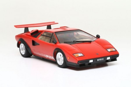 Tamiya 1/24 Lamborghini Countach LP500S Red Body w/Clear Coat