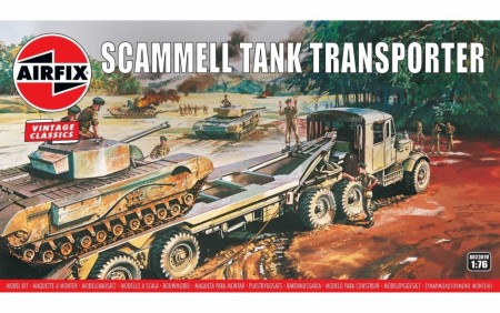 Airfix 1/76 Scammell Tank Transporter Vintage Classics