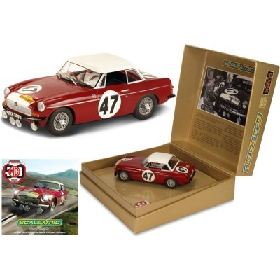 Scalextric 1:32 Celebrating 50 Years of MGB - Old Faithful Limited Edition