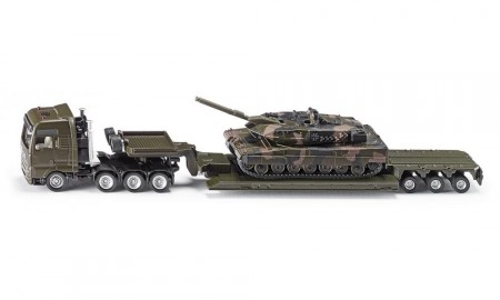 Siku Diecast 1/87 Low Load with Tank 1872