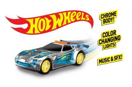 Hot Wheels Edge Glow Cruisers Nerve Hammer