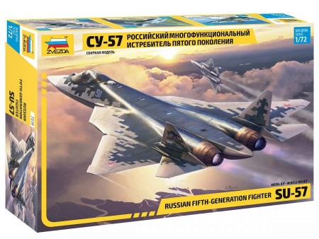 Zvezda 1/72 Russian Fifth-Generation Fighter SU-57