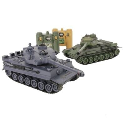 RC 1/28 Battle Tanks Tiger vs T-34 2.4Ghz RTR