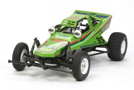 Tamiya RC byggesett 1/10 The Grasshopper Candy Green Edition