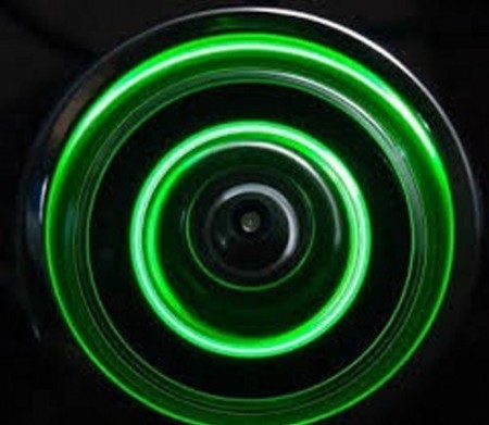 LED Dynamic Wheel Light Green