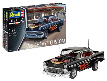 Revell 1/24 Chevy 1956 Custom