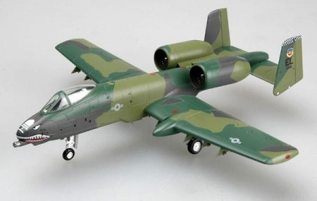 Easy Model 1/72 A-10A 23rd TFW England AFB 1990