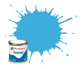 Humbrol Enamel No 47 Sea Blue - Blank 14ml