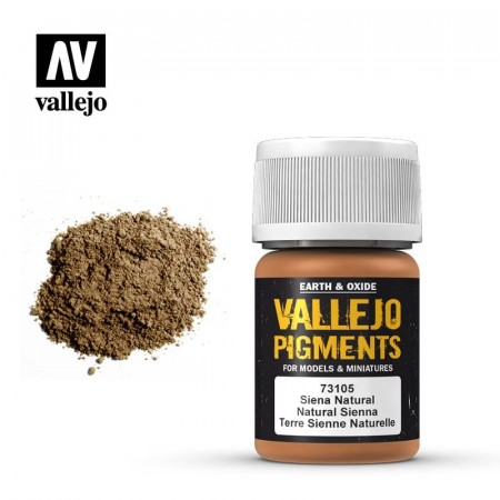 Vallejo Pigments Natural Sienna 35ml
