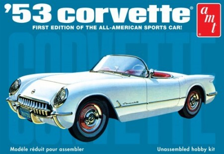 AMT 1/25 Chevy Corvette 1953