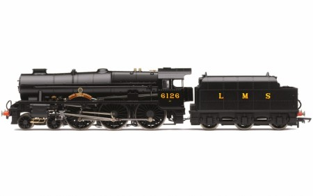 Hornby LMS, Royal Scot Class, 4-6-0, No. 6126 Royal Army Service Corps - DCC Ready - Era 3