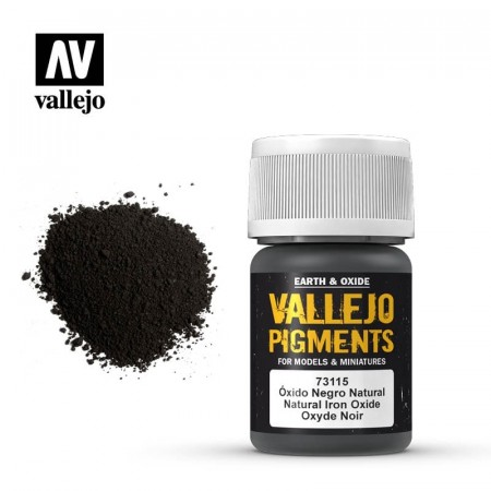 Vallejo Pigments Natural Iron Oxide 35ml