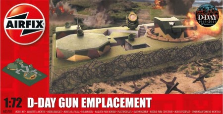 Airfix byggesett 1/72 D-Day Gun Emplacement A05701