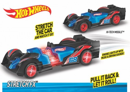 Hot Wheels Stretch FX Hi-Tech Missile m/Lyd og Lys