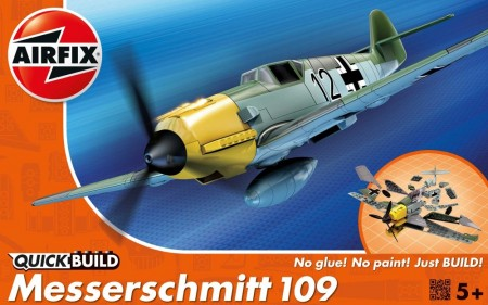 Airfix QUICK BUILD Messerschmitt 109 J6001