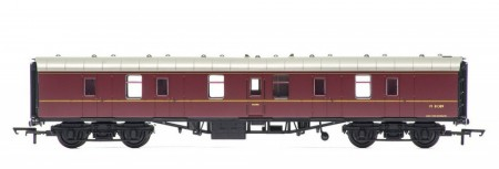 Hornby Railroad BR Maroon Mk1 Parcels Brake Coach R4625