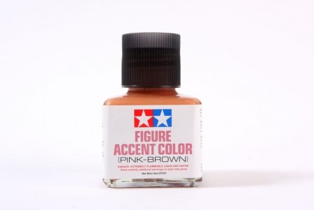 Tamiya Figure Accent Color Pink-Brown 40ml
