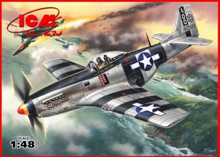 ICM 1/48 WWII American Fighter Mustang P-51K