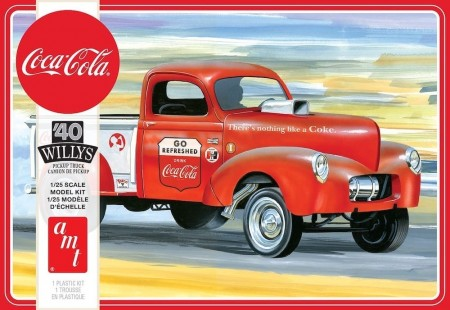 AMT 1/25 Willys Pickup Gasser Coca-Cola 1940