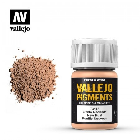 Vallejo Pigments New Rust 35ml