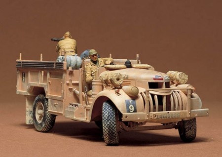 Tamiya 1/35 British L.R.D.G. Command Car 30cwt Truck