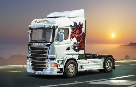 Italeri 1/24 Scania R730 Streamline Highline Cab