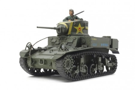 Tamiya 1/35 U.S Light Tank M3 Stuart Late Production