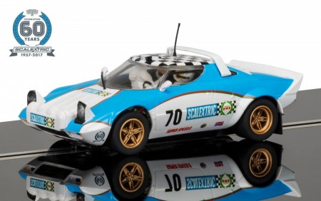 Scalextric bil 1:32 60th Anniversary Collection Car 1970s Lancia Stratos