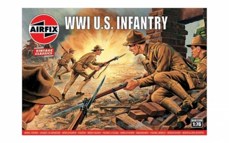 Airfix 1/76 WWI American Infantry Vintage Classics