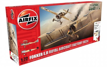 Airfix Gavesett 1/72 Dogfight Fokker E.II and BE2c A50177