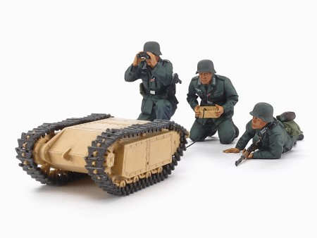 Tamiya 1/35 German Assault Pioneer Team and Goliath Set