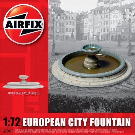 Airfix modell 1/72 European City Fountain A75018