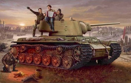 Trumpeter 1/35 Russia KV-1 Model 1942 Lightweight Cast Tank