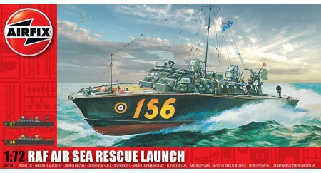 Airfix byggesett 1/72 RAF Air Sea Rescue Launch A05281