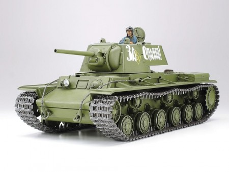Tamiya 1/35 Russian KV-1 Model 1941 Early Production