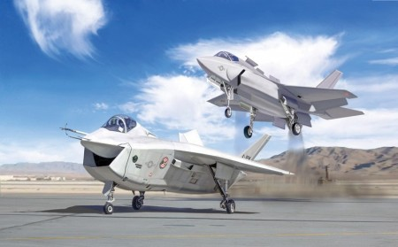 Italeri 1/72 Joint Strike Fighter Program X-32A and X-35B