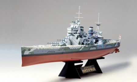 Tamiya 1/350 British Battleship HMS Prince of Wales 78011