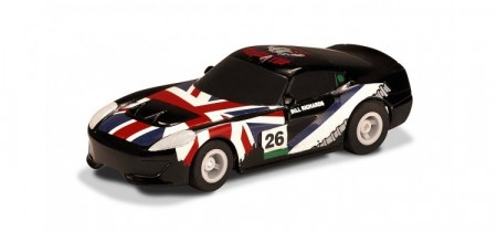 Scalextric 1:64 Microbil GT Car Black No. 26